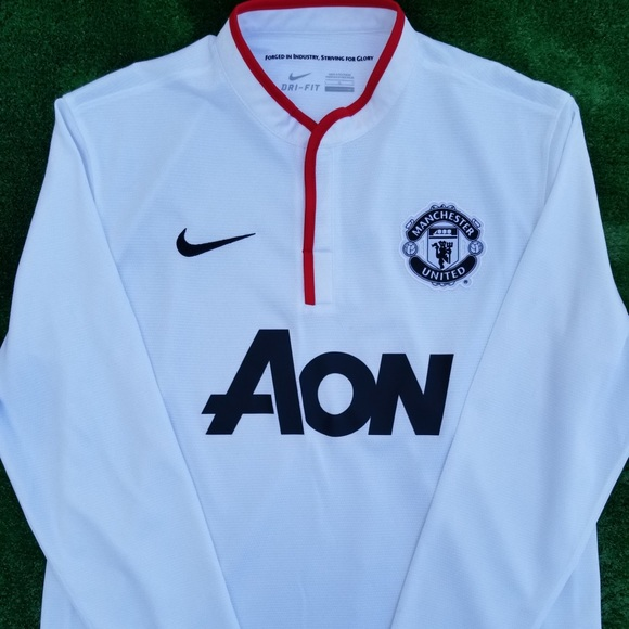 f474911f7 2013 14 Manchester United 3rd kit soccer jersey